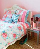 Dekbedovertrek Room Seven Funny Flower - Pink - Lits-jumeaux - 260x200 cm