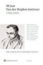 50 jaar Van der Heijden Instituut (1966 - 2016)