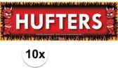 10x Sticky Devil Hufters grappige teksen stickers