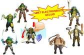 TMNT Movie 2 - Deluxe figuren functie Asst (ELECT