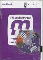 Moderne wiskunde / Havo vwo 1A+1B / deel Werkboek + CD-ROM