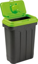 Maelson Dry Box 15 L voerton - zwart/groen - tot 15kg - L
