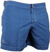 Ramatuelle  Zwembroek Heren Fitted -  Cap Martinez Hemel Blauw -  Maat  XL