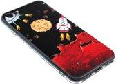 Ruimtevaart astronauten siliconen hoesje iPhone 8 Plus / 7 Plus