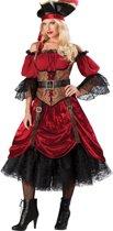 Deluxe piraten kostuum voor dames  - Verkleedkleding - Medium