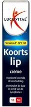 Lucovitaal - Koortslip crème -10 milliliter - SPF 30 - Medisch Hulpmiddel
