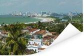 Tropische Braziliaanse begroeiing van Recife Poster 90x60 cm - Foto print op Poster (wanddecoratie woonkamer / slaapkamer)