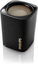 Philips BT100B - Zwart portable Bluetooth speaker