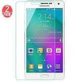 2 stuks Glass Screenprotector - Tempered Glass voor Samsung Galaxy J5 2015 J500