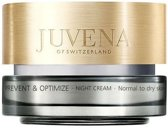 MULTI BUNDEL 2 stuks Juvena Skin Optimize Night Cream Normal To Dry Skin 50ml
