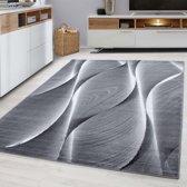 Modern  vloerkleed - Jena Zwart 9310 80x150cm