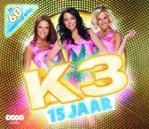CD cover van 15 jaar K3 (4cd) van K3