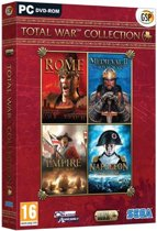 TOTAL WAR Collection Edition (Rome/Medieval II/Empire/Napoleon) /PC - Windows