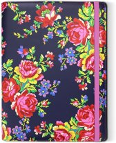 Accessorize - Navy Rose tablet case - groot (universeel)