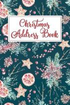 Christmas Address Book