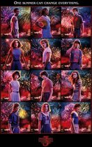 Hole In The Wall Stranger Things Character Montage Maxi Poster