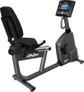 Life Fitness RS1 Ligfiets met Go Console