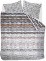 Beddinghouse Jarno -  Dekbedovertrek - Flanel - Lits-jumeaux - 240x200/220 cm - Naturel