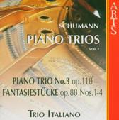 Schumann: Piano Trios Vol 2 / Trio Italiano