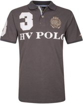 HV Polo Favouritas EQ SS - Heren Poloshirt - Charcoal - L