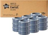 Tommee Tippee Twist & Click luieremmer Navulling - 18 stuks