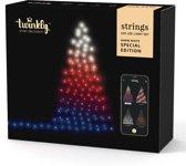 Twinkly kerstverlichting warm wit 25 meter (255 LED-lampjes) met mobiele app