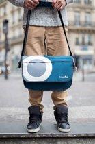 Babymoov Luiertas Messenger Blauw, Wit, Grijs A043548 - 40x25x14,5cm