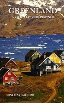 Greenland 5 x 8 Weekly 2020 Planner: One Year Calendar
