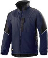 Snickers winterjack blauw/zwart 1119-9504 008/XXL