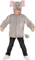 """""""Vest met capuchon olifant voor kinderen - Verkleedkleding - 98/104"""""""