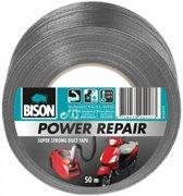 Bison Power repair tape grijs 50mtrx6cm