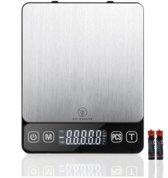 Fit Evolve Professionele Digitale precisie weegschaal 500g x 0.01 gram - Keuken weegschaal - Koken- Kruiden - Sieraden/Juwelen - Brievenweegschaal - Scheikunde - Apotheek - Zakweegschaal