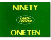 Land Rover 90 and 110 Handbook