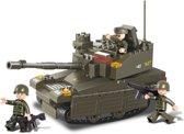 Sluban Tank met 3 soldaatjes 33 x 23,7 cm