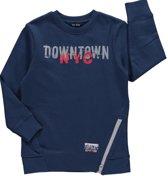 Blue Seven Jongens Sweater Blauw - 864551 - Maat 128