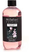 Millefiori Milano Refill voor Geurstokjes Magnolia Blossom & Wood 250 ml