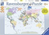 Ravensburger puzzel Wereldkaart CITO - Legpuzzel - 500 stukjes
