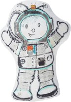 Beddinghouse Kids Astronaut Sierkussen - Grijs 42x30