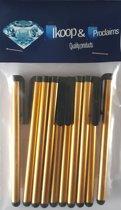 IKOOP & PROCLAIMS © 10 Stylus Pen voor Tablet en Smartphone Kleur GOUD