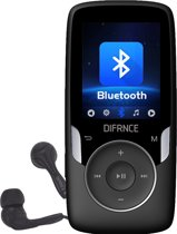 Difrnce MP1818 4GB Zwart - bluetooth MP4 speler