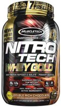 Nitro Tech Whey Gold 1130gr Aardbei