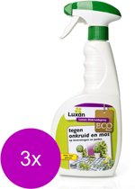 Luxan Onkruidspray - Onkruidbestrijding - 3 x 750 ml