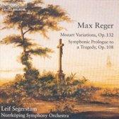 Reger: Mozart Variations, etc / Segerstam, Norrkoping SO