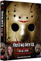 Friday the 13th Part VIII: Jason Takes Manhattan (1989) (Blu-ray & DVD in Mediabook) (import)