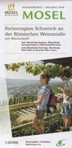 Eifelverein Wandelkaart Mosel Ferienregion Schweich an der Römischen Weinstraße 1:25.000 (30) 2018