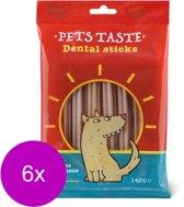 Pets Taste Flex Dental - Hondensnacks - 6 x 140 g