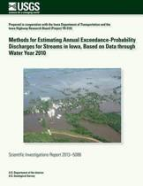Methods for Estimating Annual Exceedance-Probability Discharges for Streams in Iowa, Based on Data Through Water Year 2010