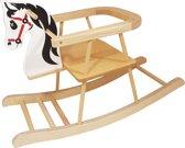Playwood - Hobbelpaard hout met beugel - Hobbel paard met zitje