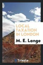Local Taxation in London