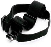 Shop4 - GoPro HERO7 Accessoires Hoofdband - Elastisch Zwart